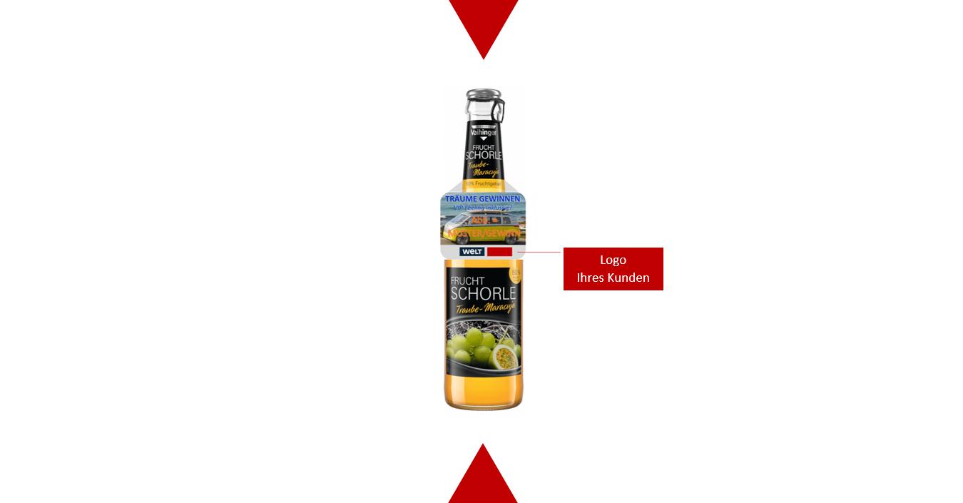 Mit eMobilitaet Deutschland neu entdecken Flaschenanhaenger