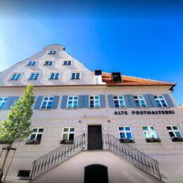 alte posthalterei zusmarshausen Nr.1